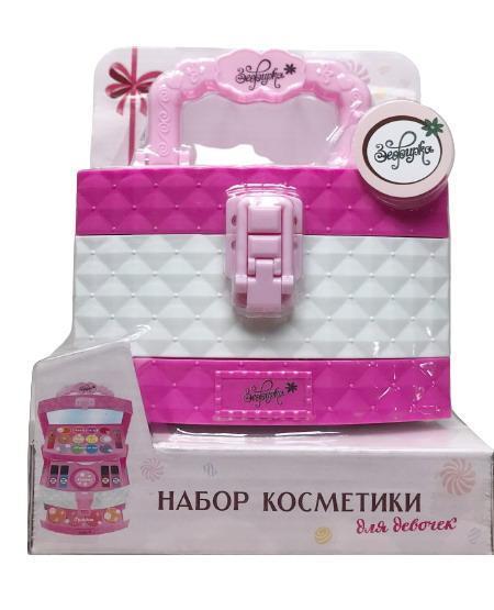 Набор декоративной косметики для девочек Романтика. Шкатулка