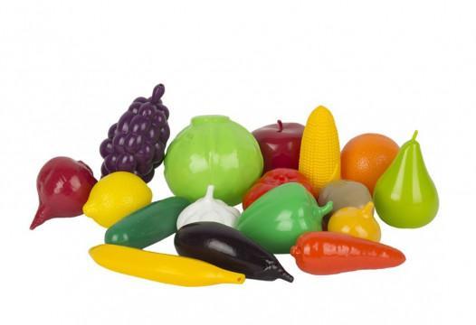 Игровой набор Фрукты и овощи, арт. У957