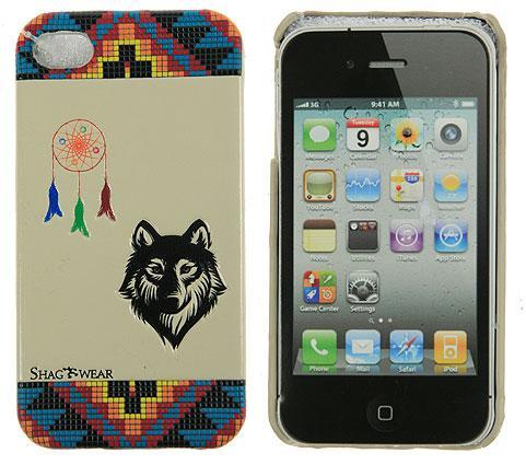 Чехол для iPhone 4 Волк