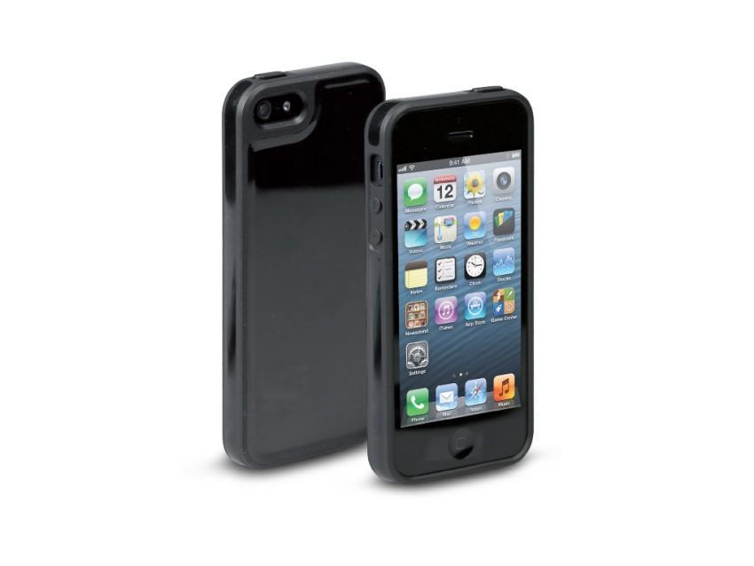 Чехол Fusion для iPhone 5 (глянец, черный)