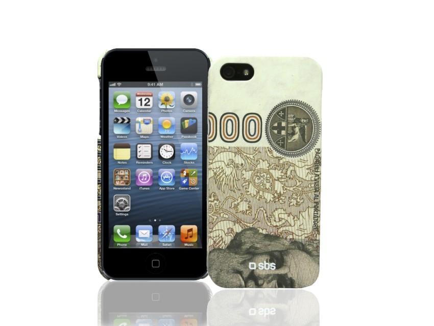 Чехол Money для iPhone 5 (оранжевый)