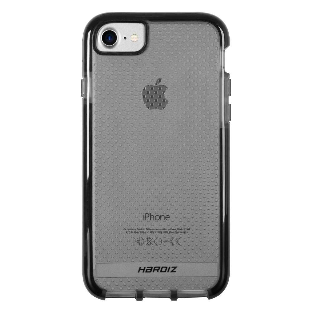 Чехол-крышка Armor Case, цвет прозрачный, черный, для iPhone 6/7/8