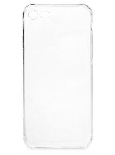 Силиконовый чехол для телефона skinBOX. Slim Silicone dustproof, для Apple Iphone 7/8, цвет прозрачный