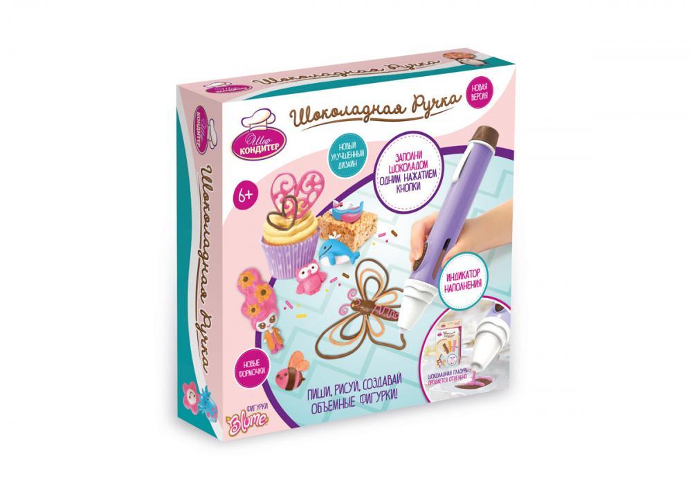 Набор для детского творчества Шоколадная ручка, новая версия