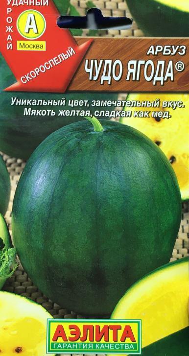 Семена. Арбуз Чудо ягода
