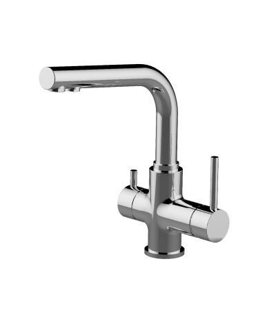Смеситель для кухни Lemark Comfort с подключением к фильтру с питьевой водой, арт. LM3061C