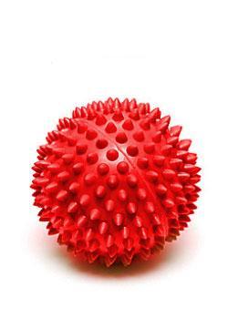 Мяч массажный красный