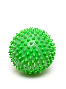Мяч массажный зелёный