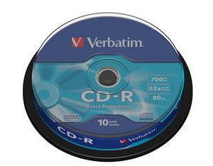 Диск CD-R Verbatim, 700 Mb