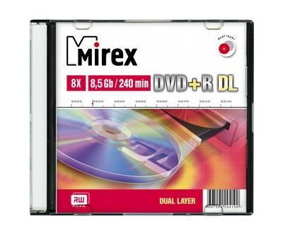 Диск DVD+R, 8.5 Гб