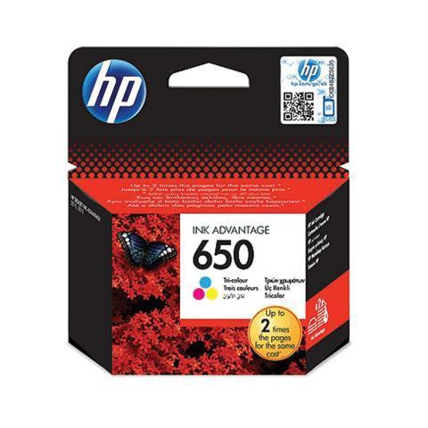 Картридж струйный Hewlett Packard (HP), №650, цветной