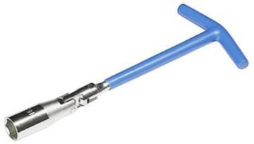 Ключ Зубр свечной с шарниром (16 мм)