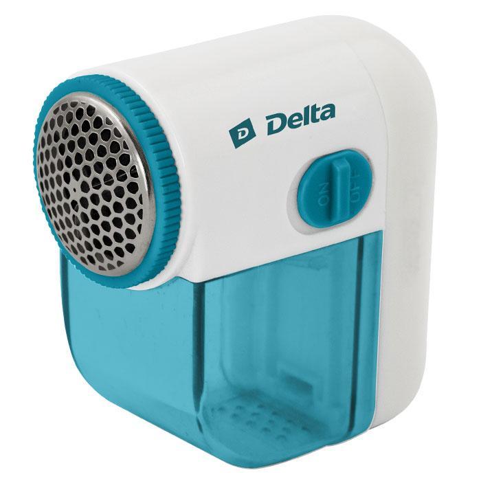 Машинка для стрижки катышков DL-255 Delta, бело-бирюзовый