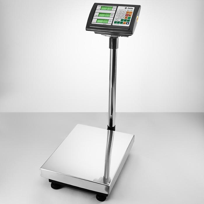 Весы торговые, платформенные, напольные ТВП-150 Delta, до 150 кг
