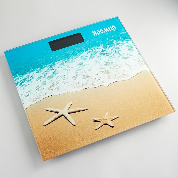 Весы напольные электронные ЯР-4204 Яромир. Песчаный пляж