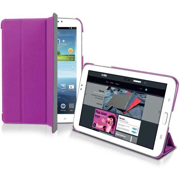 Чехол-книжка Джинс для планшета Samsung Galaxy Tab 3 (7.0), розовый