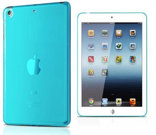 Чехол на заднюю панель для iPad Mini Aero, голубой