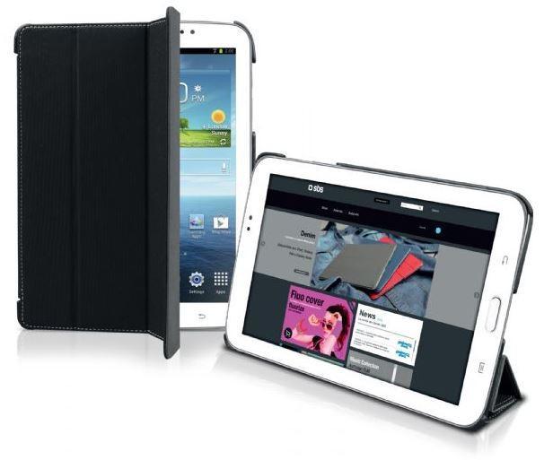 Чехол-книжка для планшета Samsung Galaxy Tab 3 7.0 Denim, черный