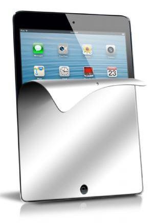 Пленка защитная для экрана iPad Mini, с эффектом зеркала