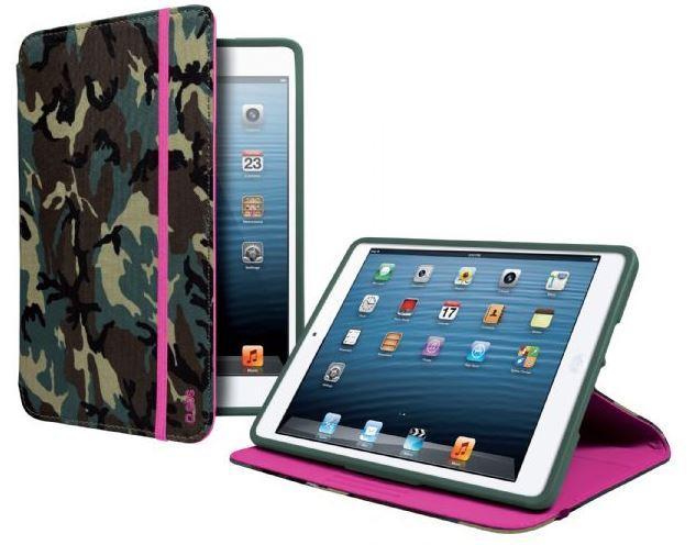 Чехол-книжка с подставкой для планшета iPad Mini Book Hammer, камуфляжный