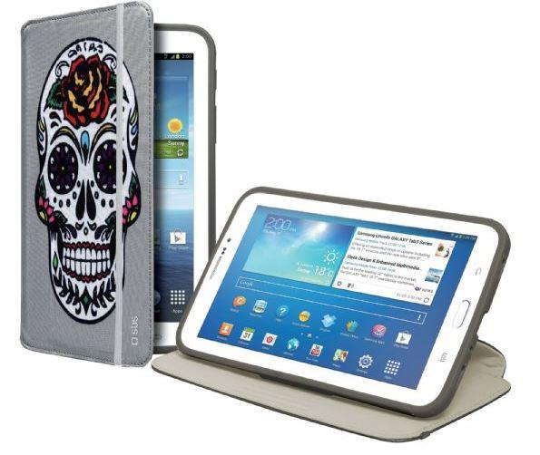 Чехол-книжка с подставкой для планшета Samsung Galaxy TAB 3 7.0 Book Hammer, серый