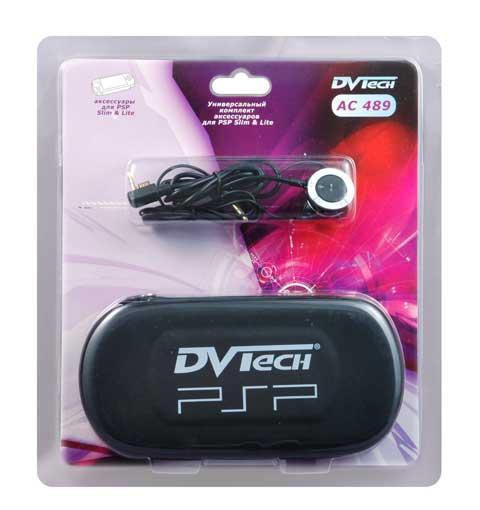 Комплект аксессуаров для PSP Slim, 3 в 1, DVTech AC489