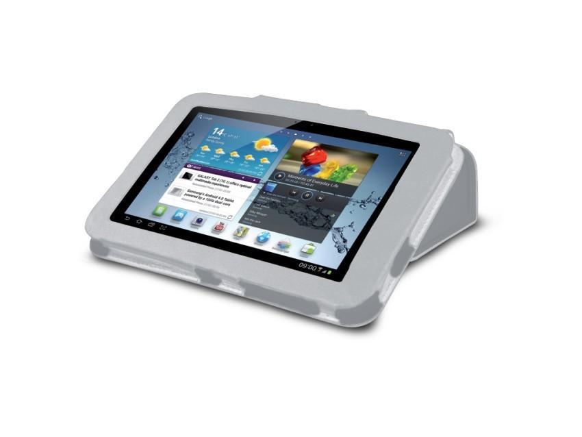 Чехол-книжка для Samsung Galaxy Tab 2 10.1 (функция подставки, белый)