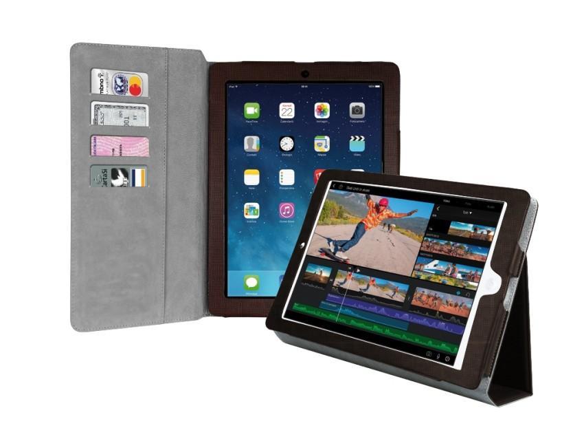 Чехол-книжка Bookstyle для iPad Air (шоколад)