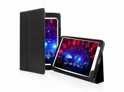 Чехол-книжка для Samsung Galaxy Tab 3 8.0 (подставка, черный)