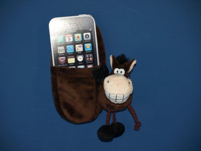 Подставка под телефон Веселая лошадка