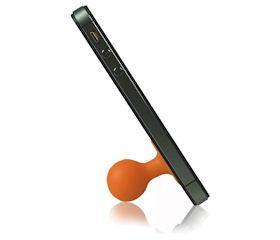 Подставка универсальная для iPhone Puppi (для плоской поверхности, оранжевая)