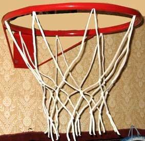 Корзина баскетбольная с сеткой