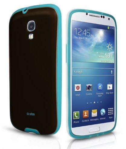 Чехол для Samsung Galaxy S4 Sweet Flurry, коричнево-голубой