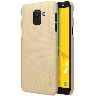 Чехол для телефона Nillkin Super Frosted, для Samsung Galaxy J6, цвет золотистый