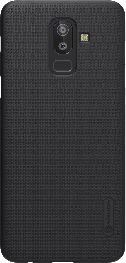 Чехол для телефона Nillkin Super Frosted, для Samsung Galaxy J8, цвет черный