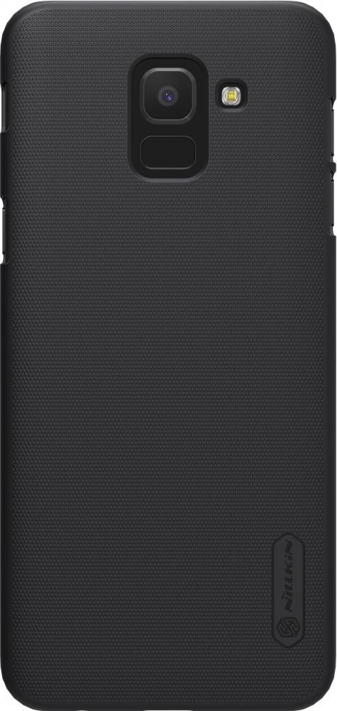 Чехол для телефона Nillkin Super Frosted, для Samsung Galaxy J6, цвет черный
