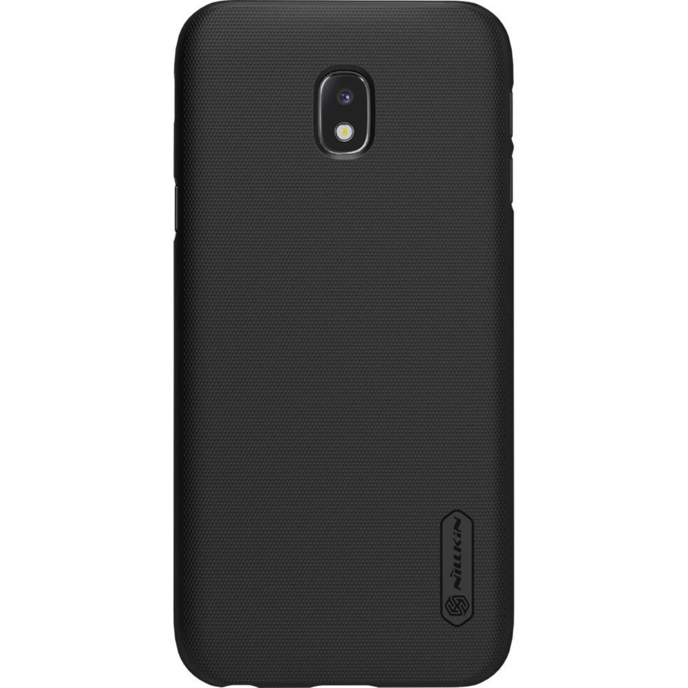 Чехол для телефона Nillkin Super Frosted, для Samsung Galaxy J3 (2017), цвет черный