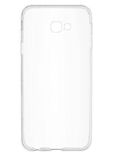 Силиконовый чехол для телефона skinBOX. Slim Silicone, для Samsung Galaxy J4+/J4 Prime, цвет прозрачный