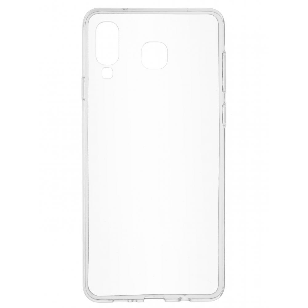 Силиконовый чехол для телефона skinBOX. Slim Silicone, для Samsung Galaxy A8 Star/A9 Star, цвет прозрачный
