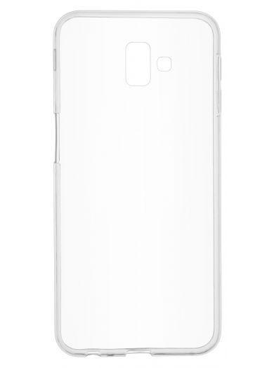 Силиконовый чехол для телефона skinBOX. Slim Silicone, для Samsung Galaxy J6+, цвет прозрачный