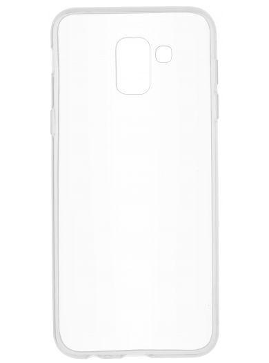 Силиконовый чехол для телефона skinBOX. Slim Silicone, для Samsung Galaxy J6, цвет прозрачный
