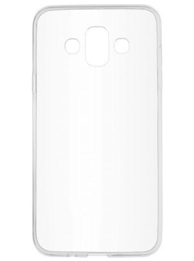 Силиконовый чехол для телефона skinBOX. Slim Silicone, для Samsung Galaxy J7 Duo (2018), цвет прозрачный