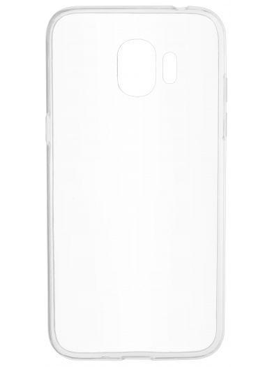 Силиконовый чехол для телефона skinBOX. Slim Silicone, для Samsung Galaxy J2 (2018), цвет прозрачный