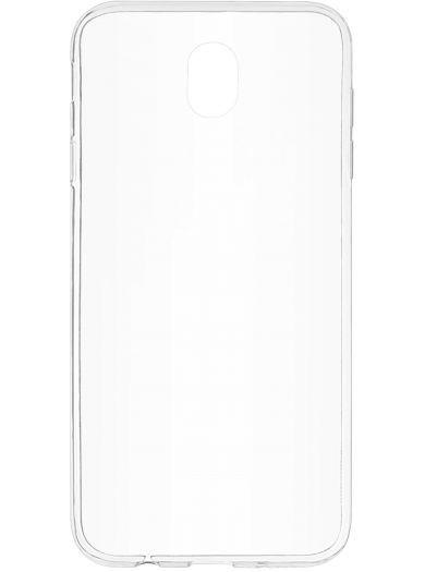 Силиконовый чехол для телефона skinBOX. Slim Silicone, для Samsung Galaxy J7 (2017), цвет прозрачный