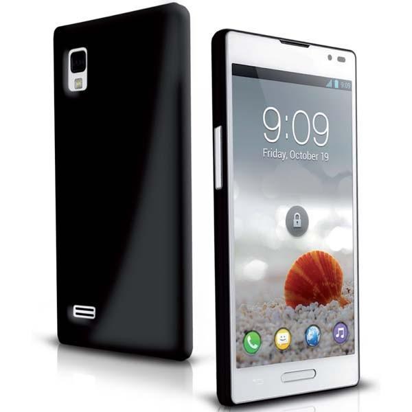Чехол Aero для LG Optimus L9 (черный)