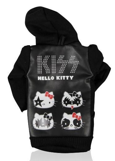 Чехол мягкий для телефона Hello Kitty Kiss (в виде свитера)