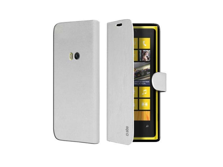 Чехол-книжка Book Case для Nokia Lumia 920 (с магнитной застежкой, белый)