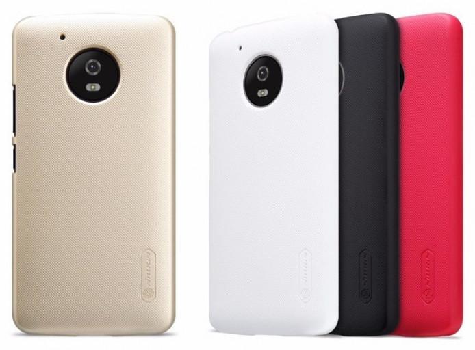Чехол для телефона Nillkin Super Frosted, для Motorola G5, цвет белый