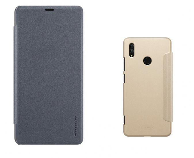 Чехол-книжка для телефона Nillkin Sparkle, для Huawei Honor Note 10, цвет золотистый