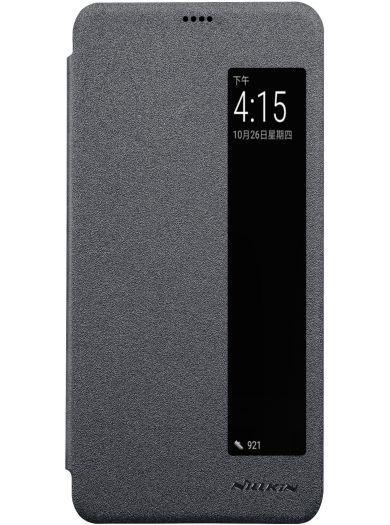 Чехол-книжка для телефона Nillkin Sparkle, для Huawei P20, цвет черный